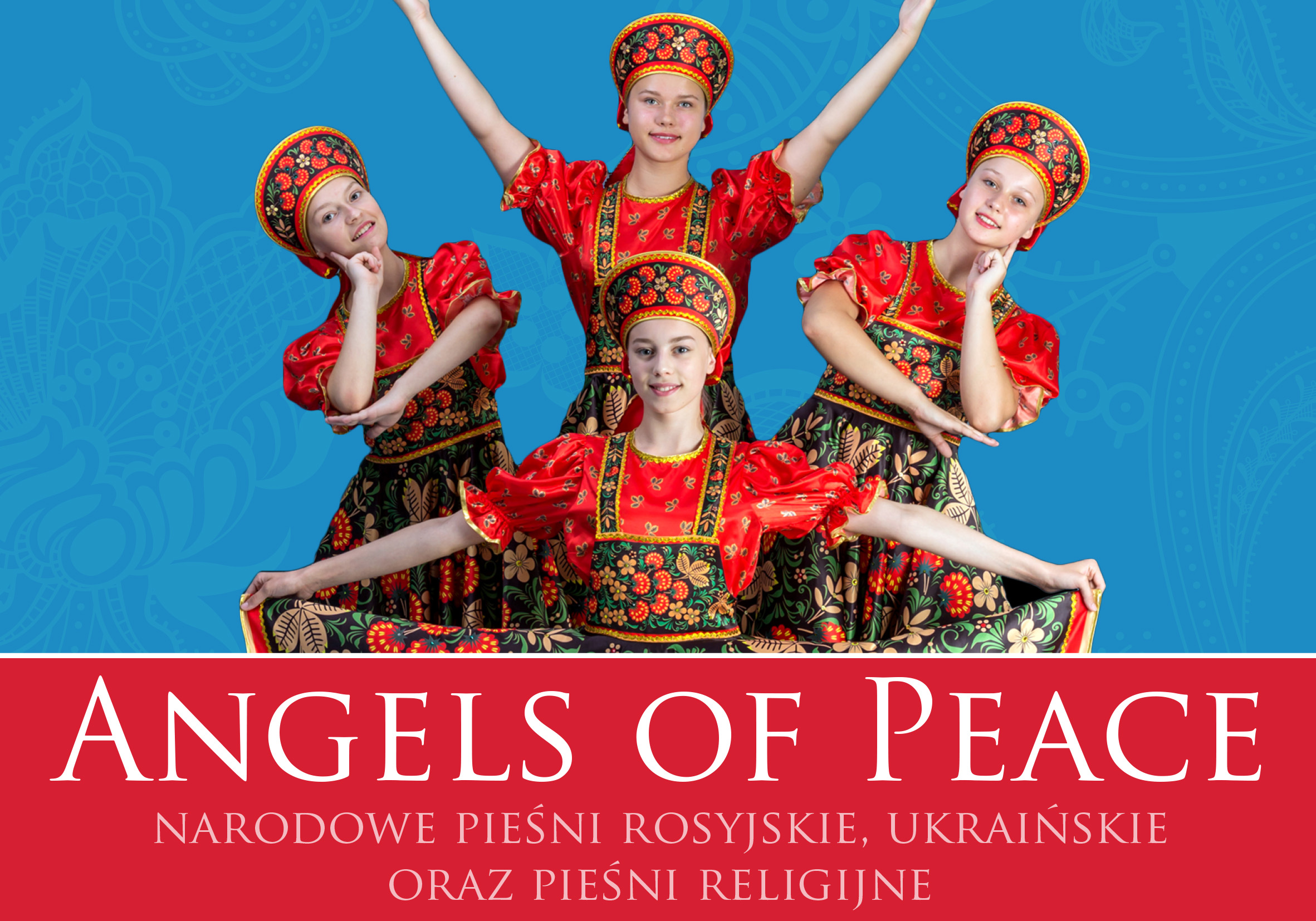 Angels on Peace - ulotka